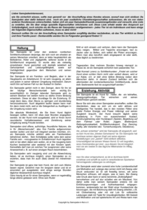 Merkblatt - Der Samojede